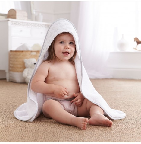 Clair De Lune Luxury Hooded Towel - Speckles Grey
